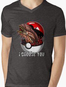 Pokemon Xenomorph Mens V-Neck T-Shirt