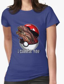 Pokemon Xenomorph Womens Fitted T-Shirt