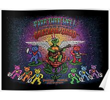 Grateful Dead - Fare Thee Well - 50 years (number 5) Poster