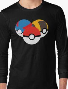 Pokéballs Long Sleeve T-Shirt