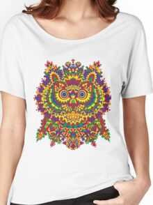 Louis Wain - Cat Owl Women's Relaxed Fit T-Shirt