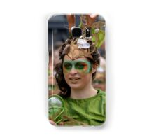 woman disguised in the festival Samsung Galaxy Case/Skin