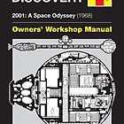 Haynes Manual - USS Discovery - Poster & stickers by MovingMedia