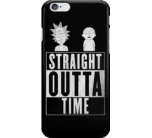 Rick & Morty time iPhone Case/Skin
