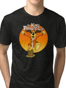 The Kung Phooey Guy. Tri-blend T-Shirt