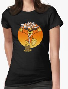 The Kung Phooey Guy. Womens Fitted T-Shirt