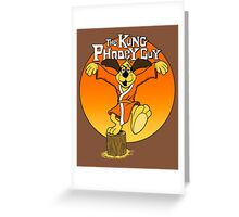 The Kung Phooey Guy. Greeting Card