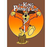 The Kung Phooey Guy. Photographic Print