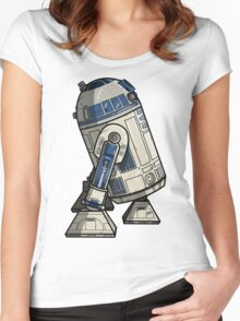 R2D2 Women's Fitted Scoop T-Shirt