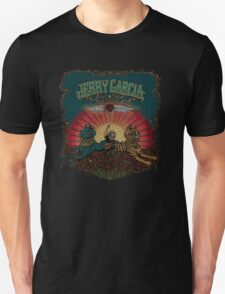Jerry Garcia playing in a roses field Unisex T-Shirt