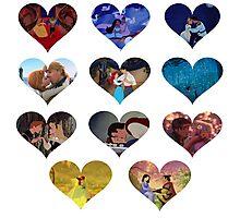 Hearts of Magic Photographic Print