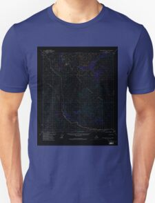 USGS TOPO Map Alaska AK Table Mountain A-5 359463 1972 63360 Inverted Unisex T-Shirt