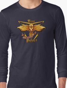 Instinct Team yellow Pokeball Long Sleeve T-Shirt