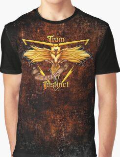 Instinct Team yellow Pokeball Graphic T-Shirt