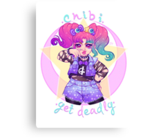 Chibi Yet Deadly Canvas Print