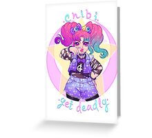 Chibi Yet Deadly Greeting Card
