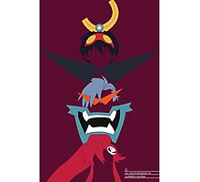 Team Die Gurren  Photographic Print