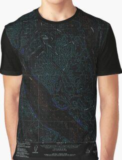 USGS TOPO Map Alaska AK Bethel A-3 354408 1979 63360 Inverted Graphic T-Shirt