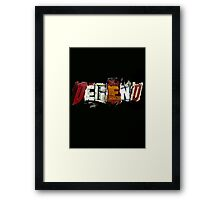 Defend. Framed Print