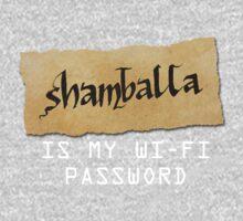 Password: Shamballa One Piece - Short Sleeve