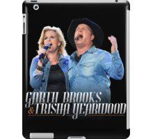 TOUR MUSIC GARTH BROOKS iPad Case/Skin