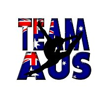 Team Australia Gymnastics (Olympic)  Photographic Print