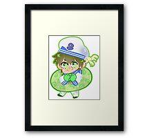 Free! Iwatobi Swim Club || Sailor Makoto Tachinaba Framed Print