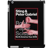 PTER GABRIEL MUSIC TOUR STYLE iPad Case/Skin