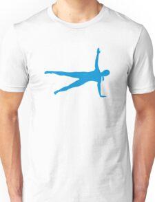 Yoga Pilates woman Unisex T-Shirt