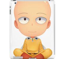 saitama zen one man punch iPad Case/Skin