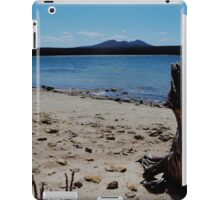 Stump on the beach at Fitsgerald River National Park. iPad Case/Skin