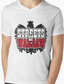 Streets of Warsaw Mens V-Neck T-Shirt