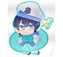 Free! Iwatobi Swim Club || Sailor Haruka Nanase Poster