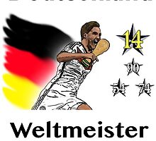 Deutschland Weltmeister 2014 (Germany World Champions 2014) by AKBame21