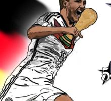 Deutschland Weltmeister 2014 (Germany World Champions 2014) Sticker