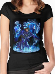 Lance | Blue Paladin of Water | Cancer Women's Fitted Scoop T-Shirt