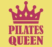 Pilates queen crown Kids Tee