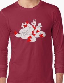 Kitsune kits!  Long Sleeve T-Shirt