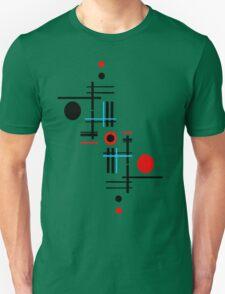 Red & Black Sky Unisex T-Shirt