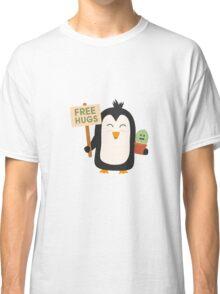 Penguin with Cactus   Classic T-Shirt