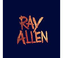 ray allen Photographic Print