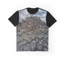 Quiet Morning at Giant's Causeway Graphic T-Shirt