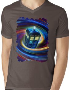 Time Vortex Mens V-Neck T-Shirt