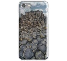 Quiet Morning at Giant's Causeway iPhone Case/Skin
