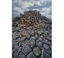 Quiet Morning at Giant's Causeway Photographic Print