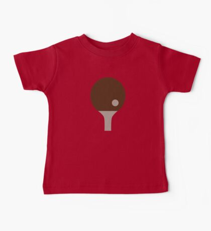Ping Pong paddle Baby Tee