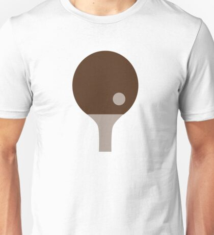 Ping Pong paddle Unisex T-Shirt