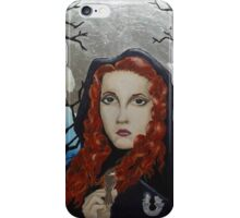 Rhiannon - Goddess of the Moon iPhone Case/Skin