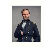 General William T. Sherman - Civil War Art Print