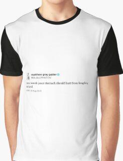 Laughing Tweet Graphic T-Shirt